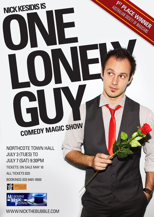 One Lonely Guy - Comedy Magic Show